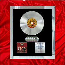 PANIC! AT THE DISCO A FEVER MULTI (GOLD) CD PLATINUM DISC FREE SHIPPING TO U.K.
