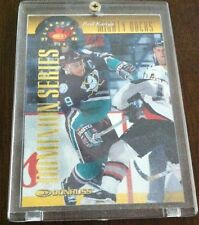 "PAUL KARIYA 97/98 DONRUSS CANADIAN ICE ""GOLD"" DOMINION SERIES 145/150 * RARE"
