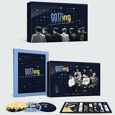 GOT7-[GOT7ING DVD] 3 DISC(CD)+84p Photo Book+7p Photo Post Card K-POP Sealed