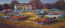 Dale Klee Country Classics Old Car S/N Print 32 x 14