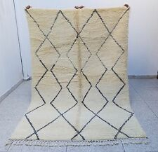 Beautiful 100% Authentic High Quality Beni Ourain Moroccan Rug 9'7 x 6'5