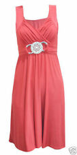 New Women Ladies Short Buckle Evening Prom Maxi Bridesmaid Dress Plus Size 8-26