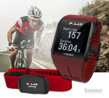New Version Red Polar V800 GPS Heart Rate Monitor HRM Sports Watch Run Triathlon