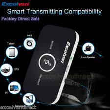 Wireless Bluetooth Stereo Music Audio Adapter Transmitter and Receiver 2-in-1