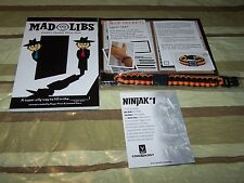 Spy Mad Libs, Paracord Bracelet, and ComiXology Code -Loot Crate March Exclusive