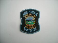 """New""  Kansas Highway Patrol/Police Sleeve Patch"