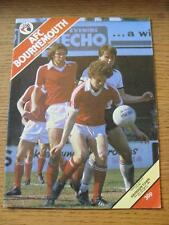 09/08/1980 Bournemouth v Swindon Town [Football League Cup] . Item In very good