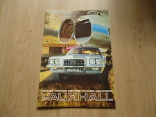VAUXHALL VICTOR, ESTATE, VX 4 / 90 AND VENTORA BROCHURE / PROSPEKT