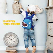 NOHOO Boys Girls Kindergarten Shoulders Bag Backpack School Travel Bags 3D Shark