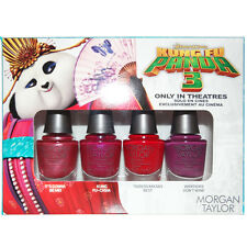 Morgan Taylor Mini Kung Fu Panda Collection Spring 2016 Nail Lacquer Set Of 4