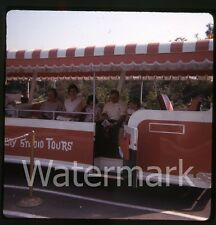 1960s  kodachrome Photo slide Universal Studios Tram  Los Angeles CA