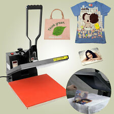38 x 38cm HIGH PRESSURE Heat Press Machine Sublimation T-shirt Printing Decal