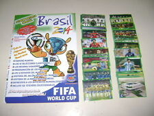 ALBUM RARE BRAZIL 2014 and BRASIL 2014 in action + sets stickers - 100% COMPLETE