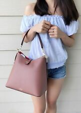 NWT KATE SPADE Leonard Street Mariel Rustic Toffee Brown Hobo Crossbody