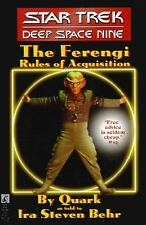 The Ferengi Rules of Acquisitoin - Star Trek Deep Space Nine, NEW PB, by Quark
