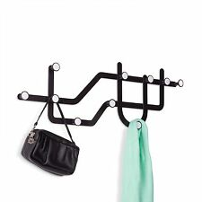 Umbra Subway Multi Coat Hook/Coat Rack - Black