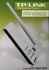 WLAN Adapter USB 150Mb TP-Link TL-WN722N Abnehmbare Antenne Wi-Fi 802.11b/n/g