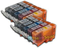 10 PGI525 CLI526 Ink Cartridges for Canon Pixma iX6550
