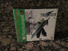 Final Fantasy VII 7 PlayStation 1 Greatest Hits Complete RARE Near Mint Discs PS