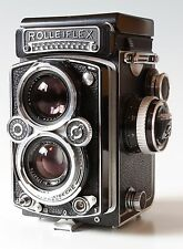 Rolleiflex 3.5 Carl Zeiss Planar TLR Film Camera Worldwide Shipping