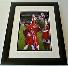 Ryan Giggs SIGNED FRAMED Photo Autograph 16x12 Huge display Manchester United