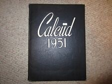 Limestone College Yearbook Calciid 1951 Gaffney, SC