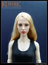 1/6 Kumik Accessory - Action Figure Head Sculpt KM045 For Phicen Female Body
