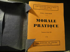 Livre Scolaire ancien Instruction Civique 1946