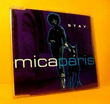 MAXI Single CD Mica Paris Stay 6 TR 1998 RnB/Swing House UK Garage Hip Hop