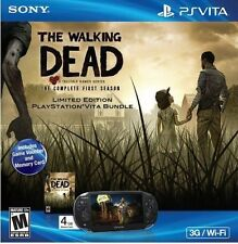 Sony PlayStation PS VITA Walking Dead Bundle 3G + Wi-Fi Handheld Game System New