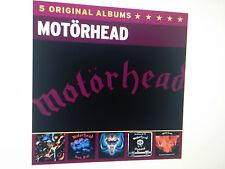 Motörhead - 5 CD Box Original Album Series Bomber Iron Fist   Neu