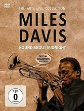 MILES DAVIS - ROUND ABOUT MIDNIGHT   DVD NEU
