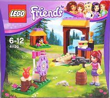 LEGO Friends 41120 Abenteuercamp Bogenschießen Mia Igel Zielscheibe Bogen  NEU