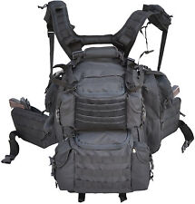 Ultimate Deluxe Tactical Assault 3-Day 72 Hours Survival Pack Backpack BK COLOR
