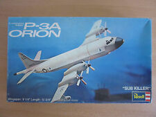 Vintage Revell Lockheed ASW P-3A Orion Plastic Model Kit H-163:200 1973