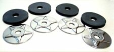 Star Washers with Rubber Pads 4-Pack GL1800, GL1500, GL1200, GL1100  (501-113A)