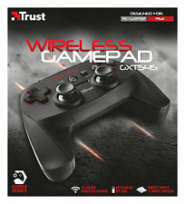 TRUST gxt545 WIRELESS 13 pulsante 2 JOYSTICK TASTIERINO RICARICABILE GAMEPAD PER PC PS3