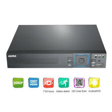 AOMG HD 4CH DVR Network Standalone Video Recorder Audio For CCTV Security Camera