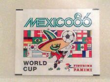 Panini WM Mexico 86 World Cup 1986 - sealed packet Tüte bustina zakje pochette