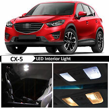 11x White Interior LED Light Package Kit for 2013-2016 Mazda CX5 CX-5 + TOOL