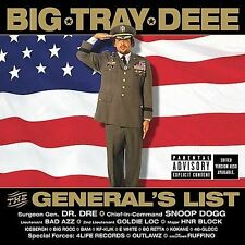 The General's List [PA] by Big Tray Deee CD BRAND NEW SEALED