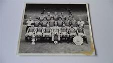 MANCHESTER UNITED FC 1983 SQUAD WITH THE FA CUP PRESS OR CLUB ISSUED PHOTOGRAPH