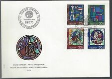 1970 Switzerland Semi Postal Issue Fete Nationale
