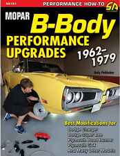 Mopar B-Body Performance Upgrades 1962-1979 book~Charger-Roadrunner-GTX-NEW!