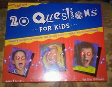 New-20 Questions for Kids 1989 University Games Board Game FREESHIPPING