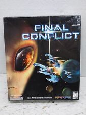 Final Conflict PC CD-Rom Game (1997) NEW/SEALED