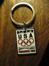 Vancouver BC Canada 2010 Winter Olympics Games Team USA Sports Charm Keychain