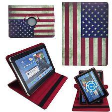 USA Amerika Flagge Tablet Tasche für 10 Zoll TheQ TP41 3G Schutz Hülle  O