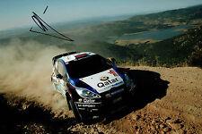 Evgeny NOVIKOV WRC FORD Rally DRIVER SIGNED AUTOGRAPH 12x8 Photo AFTAL COA