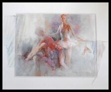 Willem Haenraets Dancer Poster Bild Kunstdruck im Alu Rahmen in schwarz 50x60cm